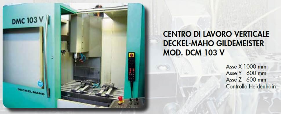 cnc vertical machining center deckel maho dmc 103v rh wilmec it